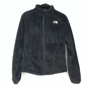 The North Face Black Fuzzy Full Zip Jacket